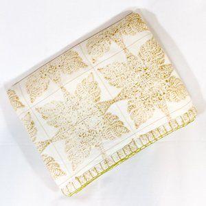 John Robshaw hand-printed quilt $600 reversible!